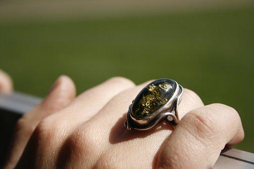 The Hand, Closeup, Woman, Ring, Women, Girl, Heat