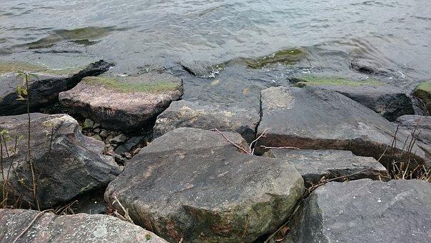 Water Bodies, Nature, Stone, Sea, Granite, Lake