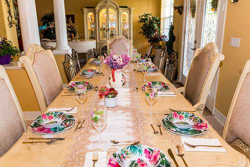 Table, Furniture, Indoors, Chair, Tableware, Dining
