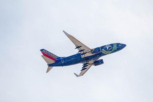 Airplane, Aircraft, Jet, Flight, Flying