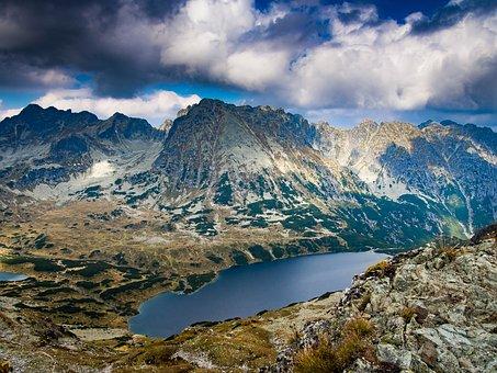 Landscape, Mountain, Nature, Travel, Sky, No One, Lake