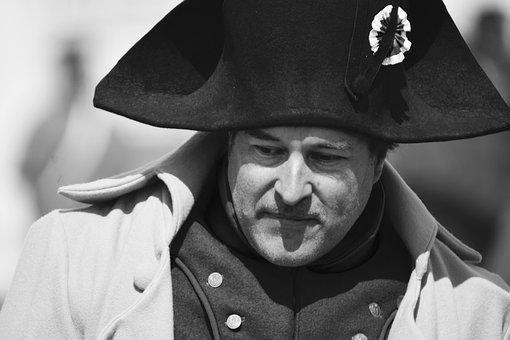 People, Portrait, Adult, Man, Lid Napoleon Bonapart