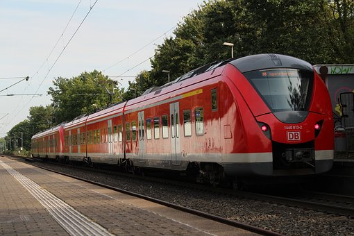 Train, Railway, Transport System, Railway Line, Motor