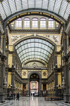 Architecture, Travel, Building, No One, City, Naples