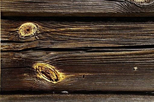 Wooden, Wood, Desktop, Old, Board, Fabric, Dark, Panel