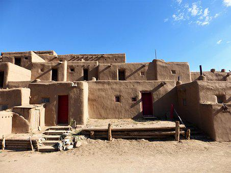 Architecture, Usa, Park, No Person, Old, House, Desert
