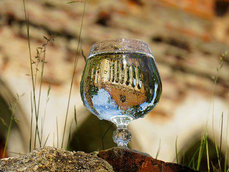 Drink, Glass, Water, Reflection, Transparent, Air