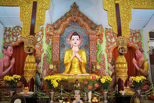 Religion, Buddha, Temple, Statue, Spirituality, Art