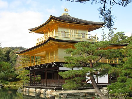 Pagoda, Wood, Shintoism, Temple, Architecture