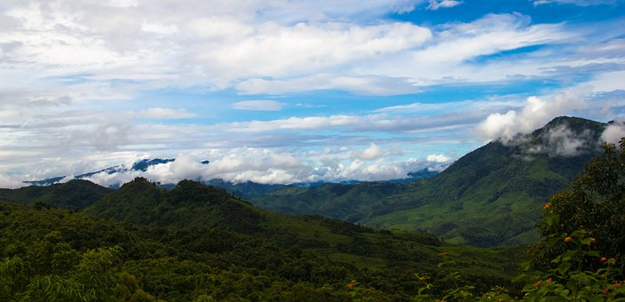 Nature, Panoramic, Mountain, Landscape, Sky, Travel
