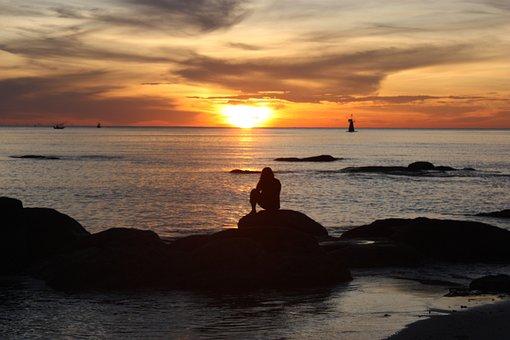 Hua Hin, Beach, Sunrise, Sea View, Sea