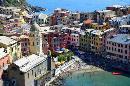 Town, Architecture, Cityscape, Travel, Sea, Tourism