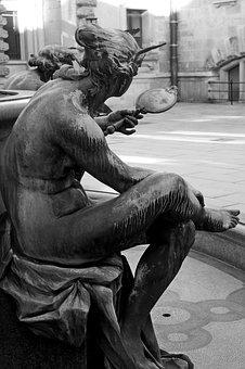 Sculpture, Hamburg, Hamburgensien, Hammonia, Town Hall