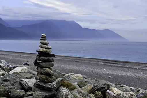 Rock, Water, Sea, Stone, Nature, Landscape, Seashore