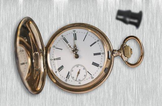 Clock, Antique, Wrist Watch, Old
