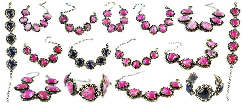 Agate, Stone, Bracelets, Gemstones, Gems, Handmade
