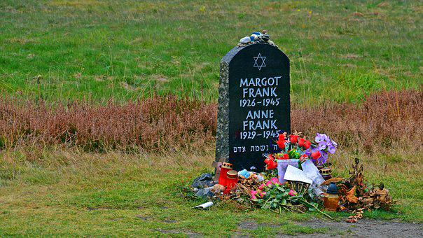 Tombstone, Anne Frank, Memorial, Belsen Mountains