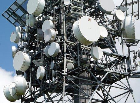 Transmitter, Receiver, Antennas, Bowls, Radio