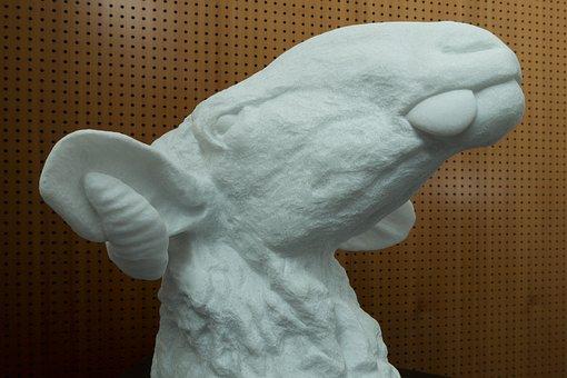 Aries, Tongue, Marble, Art, Sculpture, Sculptor