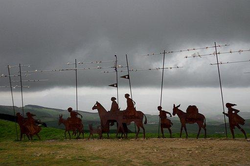 Jakobsweg, Away, Camino De Santiago, Pilgrimage