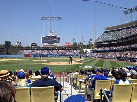 Dodger Stadium, Baseball, Ballpark