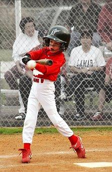 Baseball, Batter, Hit, Swinging, Player, Bat, Athlete