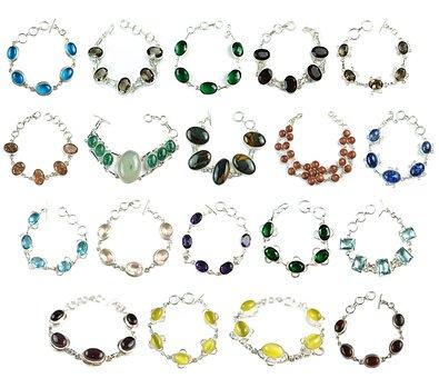 Stone, Colorful, Bracelets, Gemstones, Gems, Handmade