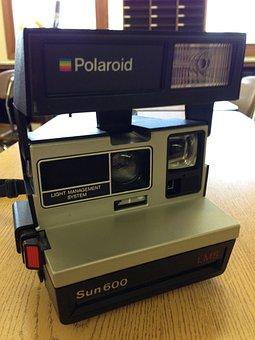 Camera, Polaroid, Old, Nostalgia, Instant