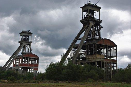 Mining, Carbon, Ruhr Area, Bill, Industry, Mine