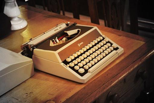 Typewriter, Alphabet, Antique, Character, Equipment