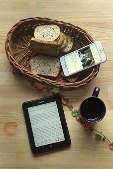 Coffee, Breakfast, Iphone, Flowers, Wreath