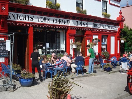 Valentia Island, Ireland, Store, Business, Coffee Shop