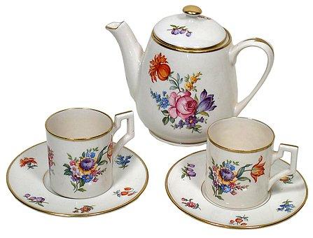 Tea Set, Saucer, Cup, Tea, Set, Drink, Teapot