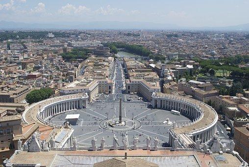 Rome, Capital, Italy, Roma Capitale, Europe, Vatican