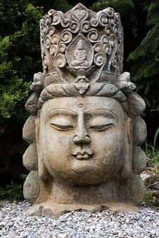 Art, Asia, Buddha, Sculpture, Fig, Deity, Statue, Stone