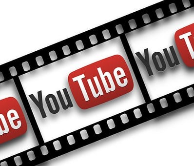 Film, Filmstrip, You, Tube, You Tube, Icon, Play Button