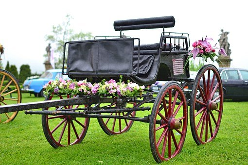 Vehicle Wedding, Cab, Historic, For A Long Time