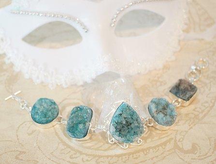 Drusy, Druzy, Crystal, Agate, Gemstone, Gems, Stones