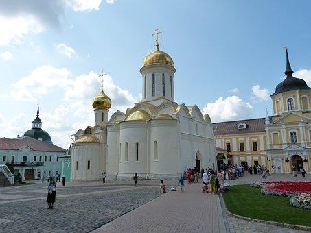 Sergiev Posad, Russia, Sagorsk, Golden Ring, Monastery