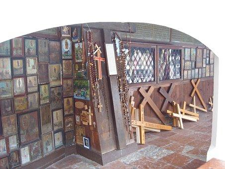 Altötting, Grace Chapel, Wall Rider, Pilgrim
