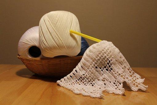 Crochet, Yarn, Hobby, Hand Labor, Homemade, Tangle
