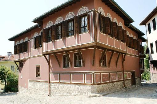 The Old Town, Plovdiv, Bulgaria, Historical, Old