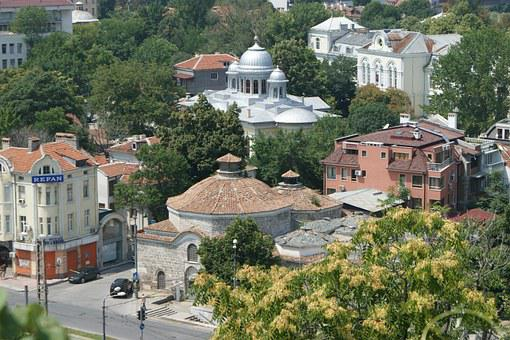 The Old Town, Plovdiv, Bulgaria, City, Historical