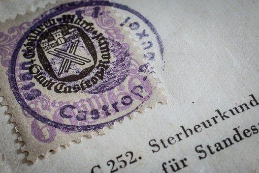 Token, Certificate, Certification, 1947, History