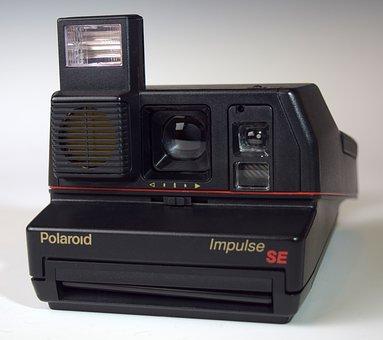 Polaroid, Photography, Camera, Impulse, Vintage, Retro