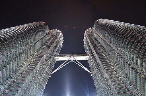 Kuala Lumpur, Petronas, Twin Towers, Malaysia