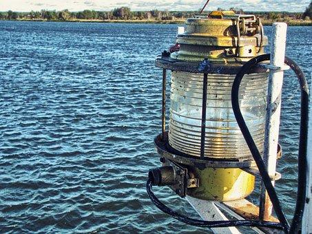 Navigation Lamp, Lighting, Ship, The Ship, Cutter