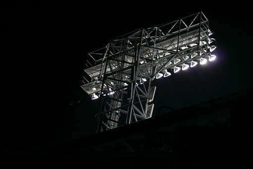 Park, Lights, Baseball, Boston, American, Arena, Ball