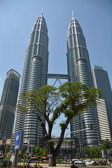 Petronas Towers, Twin Towers, Malaysia, Kuala Lumpur