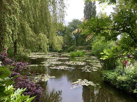 Cluade Monet, Water Garden, Plant, Art, Monet Garden